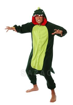 Kigurumi Shop | Dinosaur Kigurumi - Animal Onesies OMG IT'S JUST JUST LIKE THE ONE DAN HAD TO WEAR FOR HIS KRAVE CHALLENGE!!!!!