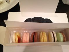 The Soirette #downtown Vancouver #west Pender St. #togo #macarons #special flavours