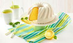 Zitronengugelhupf mit Glasur Rezept   Dr. Oetker