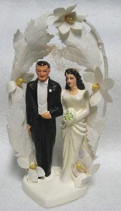 Vintage chalk Bride and Groom wedding cake topper - Vintage Cake Toppers, Custom Wedding Cake Toppers, Wedding Topper, Wedding Cakes, Wedding Favors, Cake Centerpieces, Wedding Groom, Bride Groom, Wedding Wishes
