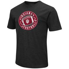 Men's Campus Heritage Indiana Hoosiers Football Tee, Size: Medium, Dark Red