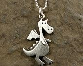 Larger dragon necklace