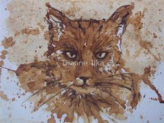 ✿ The Uncommon Materials January 2012 How-To: Dianne Ilka - Painting with coffee | Redbubble ✿