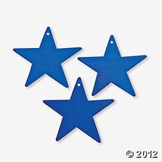 Blue Twinkling Stars