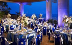 Evening Reception at Crystal Blue Terrace
