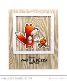 Card by Francine (www.1001cartes.ch) cards, karte, carte, carterie, cardmaking, cardmaker, crafts, papercrafts, handmade, diy, stamping, #1001cartes, mftstamps, #mftstamps, dienamics, March Card Kit, Warm and Fuzzy Friends