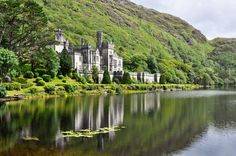 Kylemore Abbey is a magical structure hidden in Connemara, County Galway, Ireland.