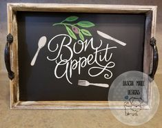 Bon Appetit by DaschaMarieDesigns on Etsy