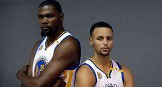 Resumen NBA: Entre Curry y Durant anotan 65 puntos; Warriors vencen a los Raptors