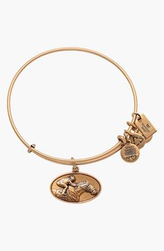 Alex and Ani 'Kentucky Derby - Race Horse' Expandable Wire Bangle available at #Nordstrom