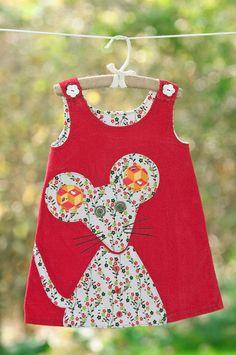 Pullover von Way Cool Kid (über Modern Kiddo) - Kindermode Toddler Dress Patterns, Girl Dress Patterns, Sewing Kids Clothes, Baby Sewing, Children Clothes, Toddler Girl Dresses, Little Girl Dresses, Baby Dresses, Dress Girl