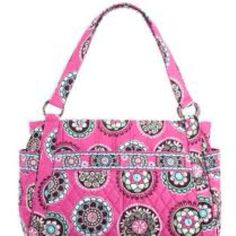 Stephanie bag in Cupcakes Pink. Got it for a steal online at Vera Bradley!  So cute this summer!