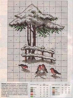 PLANETA PONTO CRUZ 2: Pássaros na Neve
