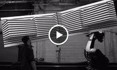 L'expérience Box : un mapping 3D spectaculaire chorégraphié par deux bras robotisés