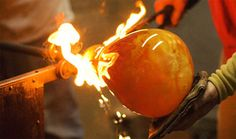 glass blowing... I want to learn this!