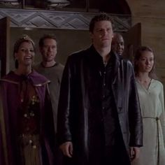 """When Willow showed up to tell everyone that Buffy was dead. 