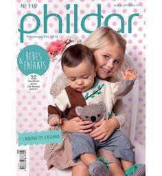 Phildar Baby-en kindercatalogus 119 lente/zomer 2015