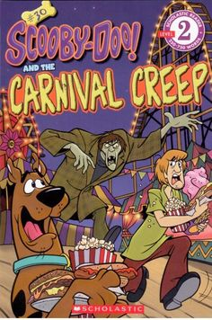Scooby-Doo! #30 And The Carnival Creep - Level 2 - Scholastic Early reader - NEW
