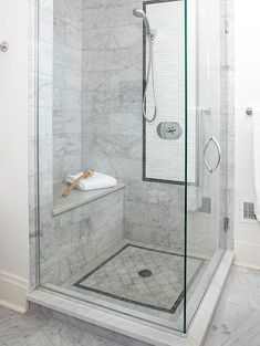 9 Persistent Tips AND Tricks: Corner Shower Remodeling Before And After shower remodel ideas grey.Small Shower Remodel On A Budget shower remodel diy how to build. Bathroom Interior, Modern Bathroom, Bathroom Ideas, Master Bathroom, Bathroom Marble, Master Shower, Bathroom Bench, Shower Bathroom, Bathroom Small