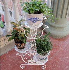 product image Indoor Flower Pots, Indoor Plants, Balcony Flowers, French Flowers, Flower Stands, Garden Landscape Design, Design Case, Metal Furniture, Plant Holders