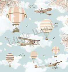 Amelia Earhart I Hart Wallpaper, Normal Wallpaper, Room Wallpaper, Amelia Earhart, Baby Room Decor, Nursery Decor, Little Hands Wallpaper, Rosarito, Kids Room Paint