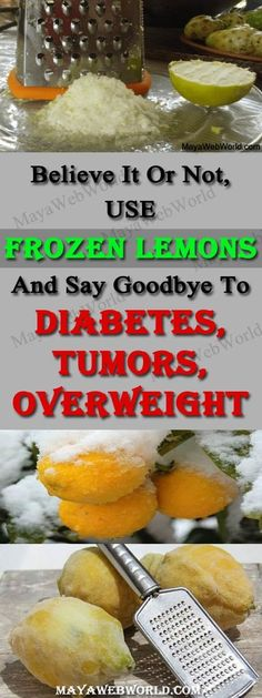 Believe It Or Not, Use Frozen Lemons And Say Goodbye To Diabetes, Tumors, Overweight – Skinny Fit Moms #health #fitness #weight loss #health tips #diabetes #cancer #tumors #overweight #weight loss tips #natural remedies #diseases #treatment