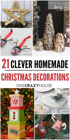 21 Clever DIY Christmas Decorations that Will Make Your Holidays Magical