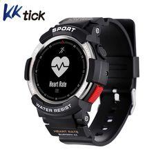 KKTICK F6 Smart ur Vandtæt Bluetooth 4.0 Sleep Monitor Fjernkamera Watch Men Outdoor Sports Smart watch for iOS Android
