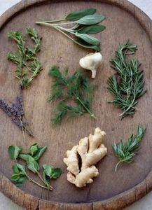 Supermarkets sell fresh herbs three ways: as potted plants, as whole plants with some roots still attached and as cut sprigs. To grow, herbs need roots. Potted plants are the easiest to replant, . Deodorant Spray, Homemade Deodorant, Spices And Herbs, Fresh Herbs, Healing Herbs, Medicinal Plants, Herbal Remedies, Natural Remedies, Hair Remedies