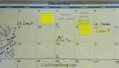 When you write a schedule for your home party business, consider front loading your month! Read what Front Load Your Month Means?  http://www.createacashflowshow.com/home-business-strategies/front-loading-your-month.htm