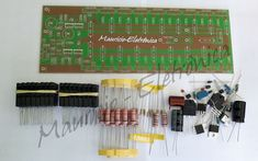 Kit Placa + Componentes Para Montar Amplificador 1600w 2 Ohms. kit para montar,mauricio eletronica,1k6 placa lisa para montar e componentes,placa para potencia,monte voce mesmo,kit para montagem - Mauricio Eletronica , Placa para Amplificadores de audio,200w,300w,400w,500w,700w,1000w,1600w,pré Diy Amplifier, Car Audio Amplifier, Subwoofer Box Design, Electronic Schematics, Circuit Diagram, Kit, Layout Design, Technology, Licence Plates