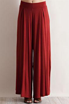 TANA Wide Leg Knit Pants