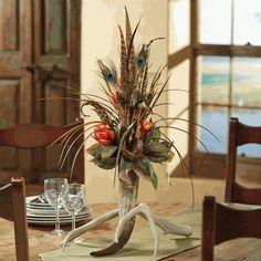 Antler & Horn Floral Arrangement