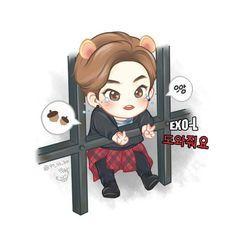 EXO Xiumin Fanart