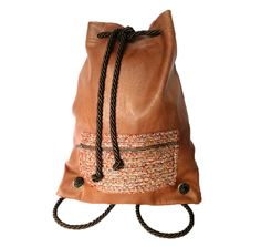 New Bag, Selena, Leather Backpack, Bucket Bag, Backpacks, Collections, Purses, Bags, Accessories