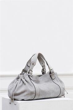 Le 24 heures zippé, sac gris | gerard darel