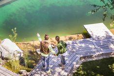 Luxury Wellness im Loft mit 200 m² großem Infinity-Naturschwimmteich zur alleinigen Benützung Golden Hill, Spa, Loft, Wellness, Natural Garden, Swimming, Luxury, Vacation, Lofts