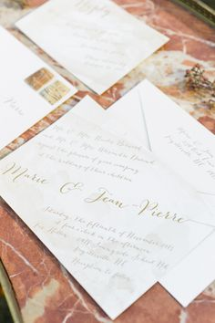 Watercolor wedding invitation. Vintage winter wedding ideas.