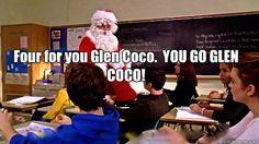 Four for you Glen Coco!