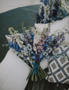 July Flower of the Month Larkspur