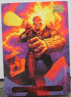 MARVEL GHOST RIDER 2099 Trading Card Collection 1994