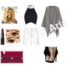 Party in Bradford by keller-lucie on Polyvore featuring mode, MANGO, T By Alexander Wang, MICHAEL Michael Kors, Diane Von Furstenberg and NARS Cosmetics