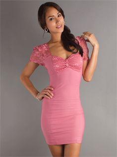 Sweetheart Neckline Slim-line Mini Length Homecoming Dress HD1157 www.homecomingstore.com $121.0000
