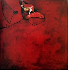 trip, 1961 ,mixed media , 100x100cm - Νίκος Κεσσανλής