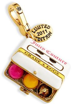 Juicy couture limited edition 2011 Easter charm, love this one
