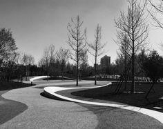 北京石景山游乐园南广场绿地:长安街上的新视角 / 北林地景 - 谷德设计网