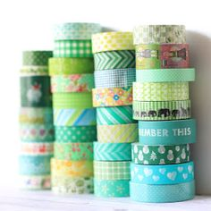 Tinkly cricket: マスキングテープ コレクション Green