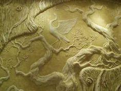 Sculptured Wall Mural Process. www.transformingwalls.com - YouTube