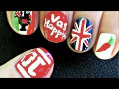 Show your devotion to #OneDirection with this nail design