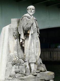 Le Zouave de Georges Diebolt (1816-1861) - Pont de l'Alma. Paris 8e